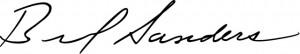 Bernie Signature